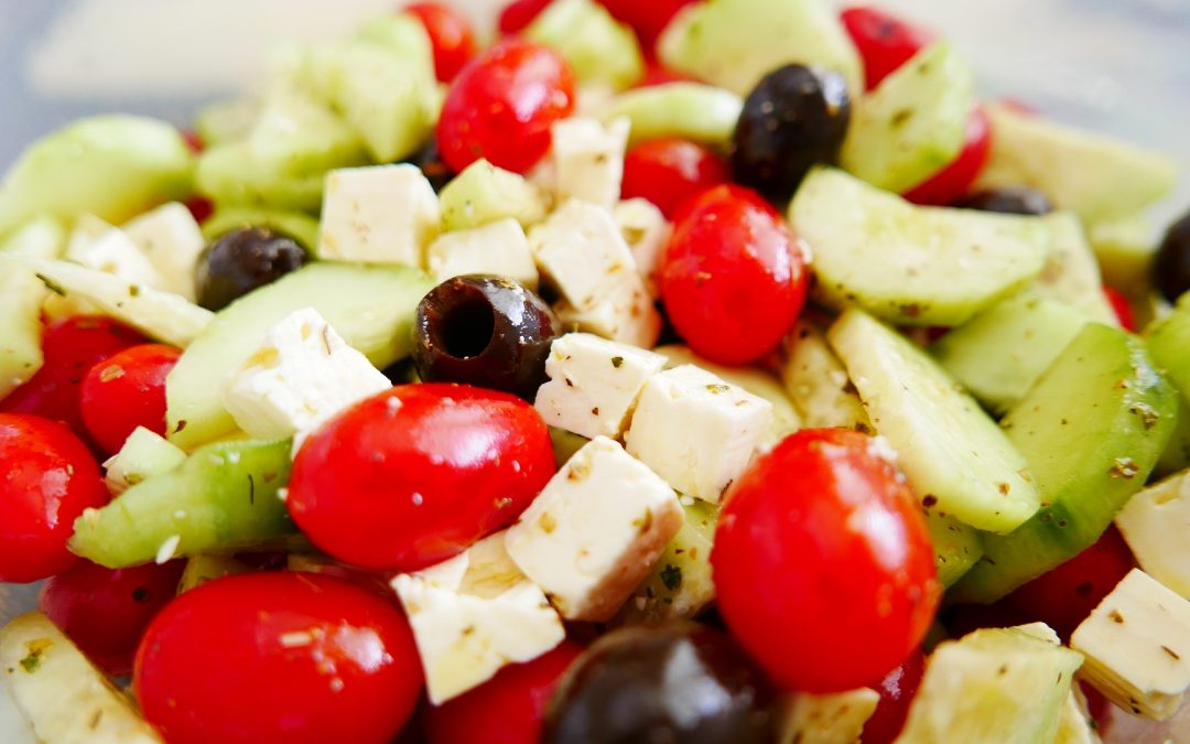 Docere Wellness Presents Easy Peasy Greek Salad