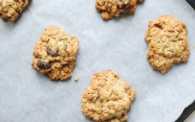 Healthy Cookies for Back to School